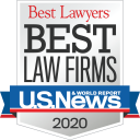 Best Law Firms badge 2020